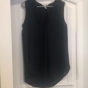 Navy H & M blouse
